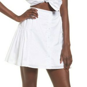 The Fifth Label sun valley skirt white BNWT